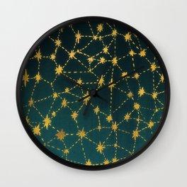 Stars Map Wall Clock