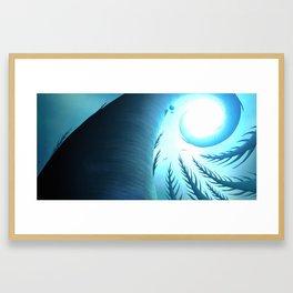 Aloft - Forest Totems Framed Art Print