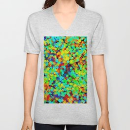 I Want To Be A Rainbow But I Don't Know How Unisex V-Neck