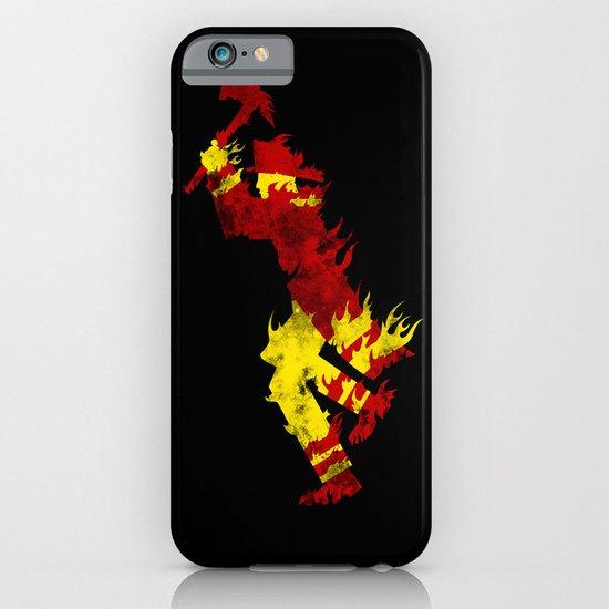 literal fireman iPhone & iPod Case