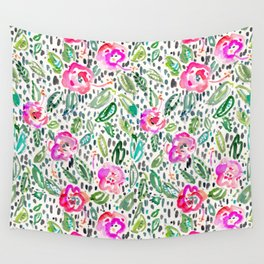 Hibiscus Frolic Wall Tapestry