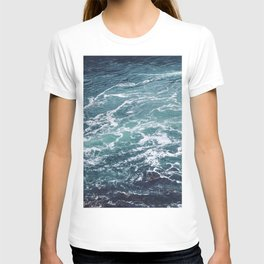 Ocean Photography   Sea   Blue Water   Seascape   Aqua T-shirt