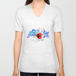Smash Kitty Unisex V-Neck