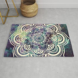 Galaxy Mandala : Deep Pastels Rug