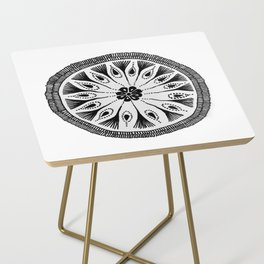 Drum Circle Side Table