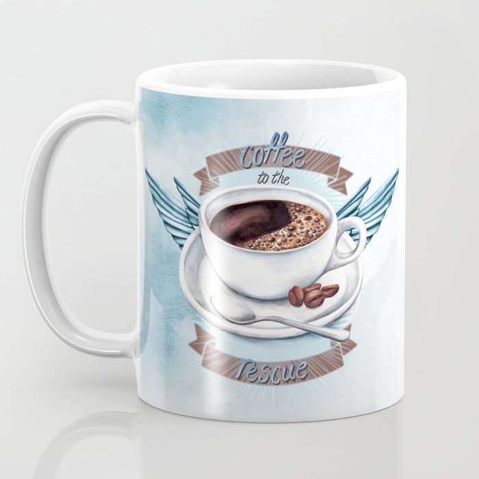 Coffee To The Rescue Coffee Mug