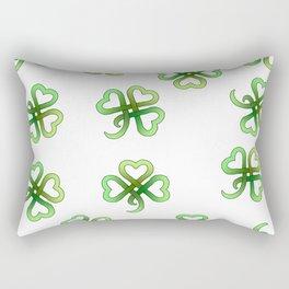Celtic Clover Rectangular Pillow