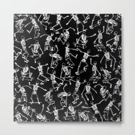 Grim Ripper BLACK Metal Print