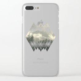 Carpathian Mountains - Transylvanian Alps Clear iPhone Case
