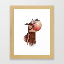 """""""These are my books"""" Framed Art Print"""