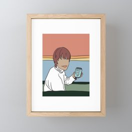 nice cold can of shut the fuck up Framed Mini Art Print