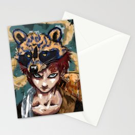Abstract Gaara Stationery Cards