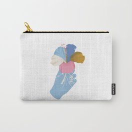 A Summer Hibiscus Carry-All Pouch