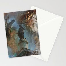 Rome Statues with color Stationery Cards