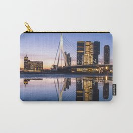 Rotterdam Erasmusbridge Reflection Carry-All Pouch