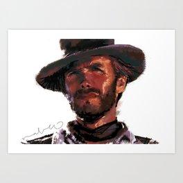The Good - Clint Eastwood Art Print