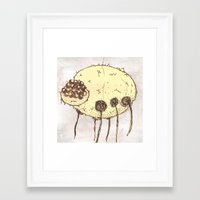 spider Framed Art Prints featuring Spider by Of Lions And Lambs