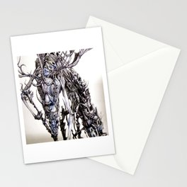 cast a spell on her Stationery Cards