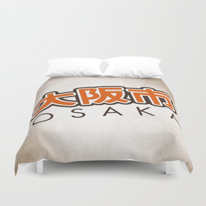 Osaka shi Duvet Cover
