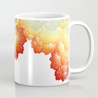 fifth element Mugs featuring Element by Andi_GreyScale