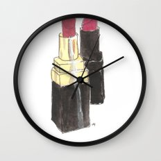 My lippies Wall Clock