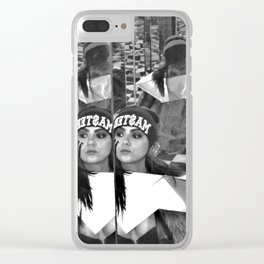 mirror master Clear iPhone Case