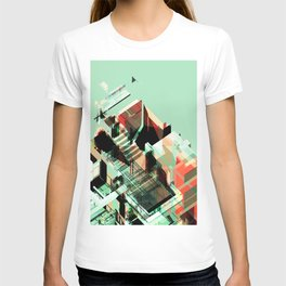 Urban Scape Fragments T-shirt