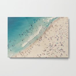 beach love V Metal Print