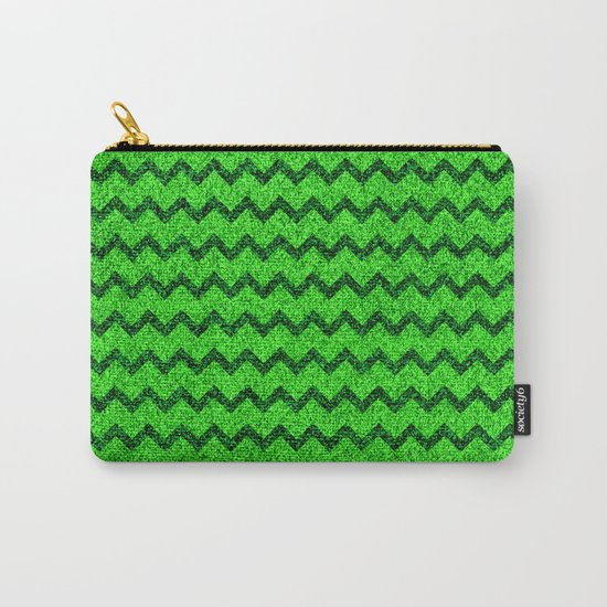 Chevron Glitter Pattern 05 Carry-All Pouch