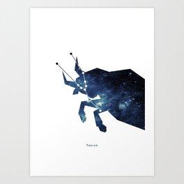 Constellation - Taurus Art Print