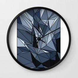 polygonal abstract Wall Clock