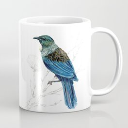 Tui, New Zealand native bird Coffee Mug