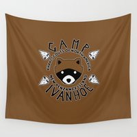 camp Wall Tapestries featuring Camp Ivanohein by Buby87
