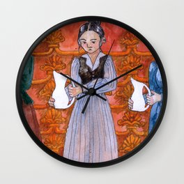 The Thing That Doesn't Fit Wall Clock
