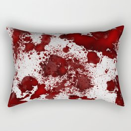 Blood Stains Rectangular Pillow