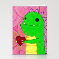 chuck Stationery Cards featuring Chuck by infiniteamethyst