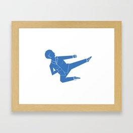 Pantsuit Power Framed Art Print