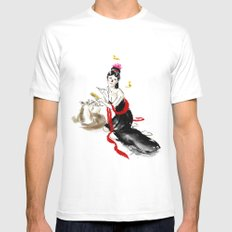 Beauty SMALL Mens Fitted Tee White