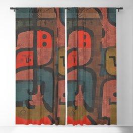 Paul Klee Exotics Blackout Curtain