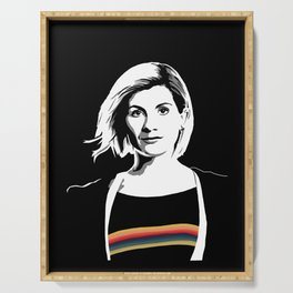 The Thirteenth Doctor Serving Tray