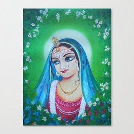 Radharani - The Indian Goddess of Love Canvas Print