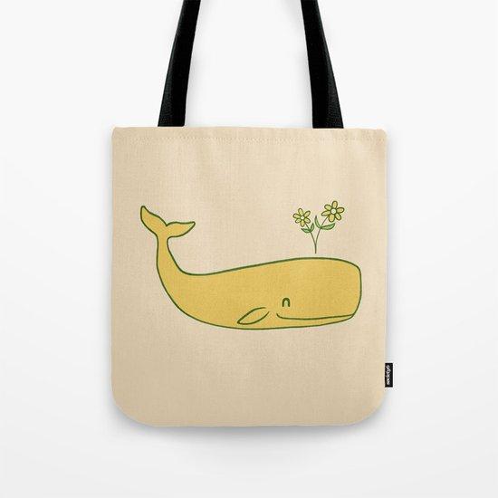 Peace Whale - colour option Tote Bag