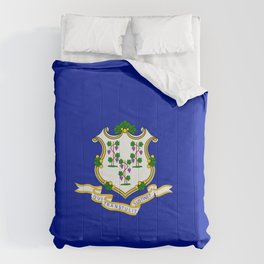 Connecticut flag Comforters