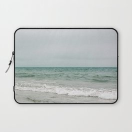Teal Waves of the East Coast - Photography  Laptop Sleeve