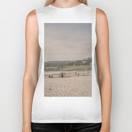 Carmel-by-the-sea beach Biker Tank