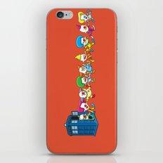 Clown Tardis Variant iPhone & iPod Skin