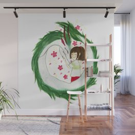 Watercolor Spirited Away - The Love Gathering Wall Mural
