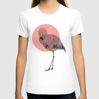flamingo T-shirts featuring flamingo by morgan kendall