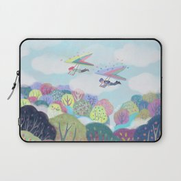 from the sky Laptop Sleeve