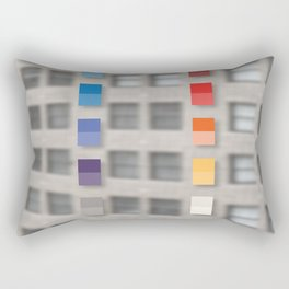 new america office one Rectangular Pillow